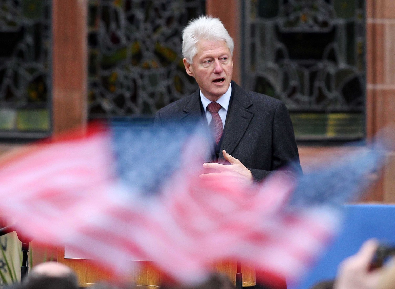 President Bill Clinton revisits Derry/Londonderry in 2014