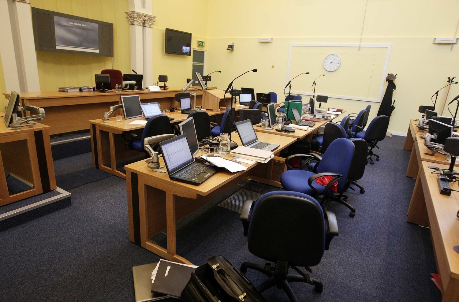 The public hearings of the Hyponatraemia Inquiry took place in Banbridge court house