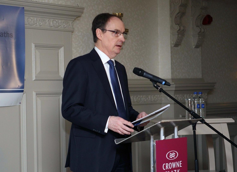 Inquiry chairman Mr Justice John O'Hara